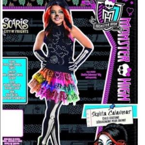 Other - Girls Monster High Skelita Calaveras Costume